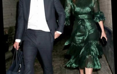 Princess Beatrice and Edoardo Mapelli Mozzi Make Their Post-Engagement Debut Holding Hands