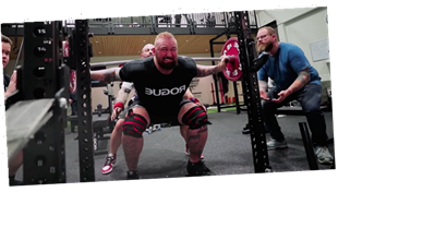 The Mountain's Leg Day Might Destroy a Mere Mortal