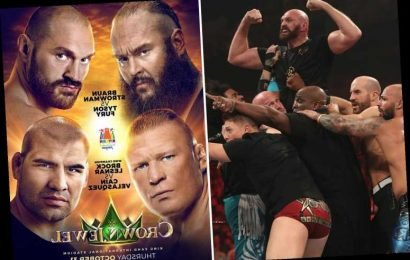 WWE Crown Jewel: UK start time, TV channel and live stream info for Tyson Fury vs Braun Strowman and Cain Velasquez vs Brock Lesnar – The Sun