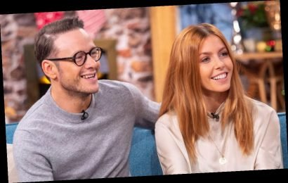 Strictly star Kevin Clifton apart from girlfriend Stacey Dooley on birthday