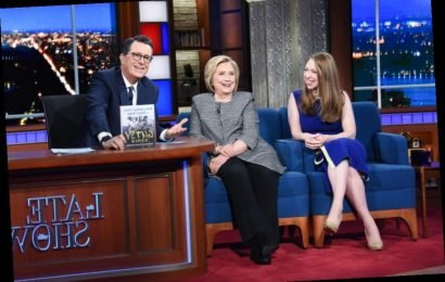 Hillary Clinton Talks Mike Pompeo & Rudy Giuliani On Stephen Colbert's 'Late Show'