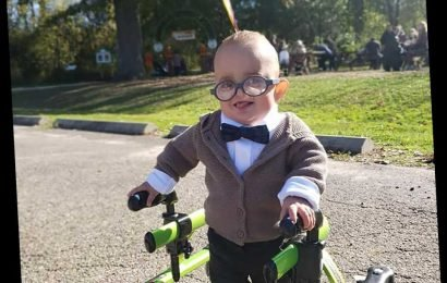 2-Year-Old Boy with Cerebral Palsy Channels Up Character for His First-Ever Halloween Costume