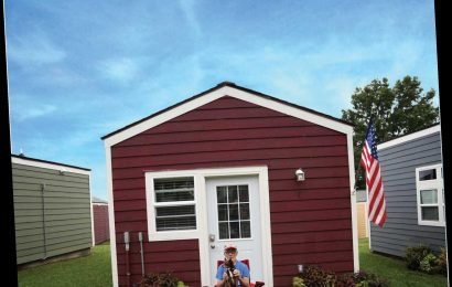 This Group's Village of Tiny Homes for Vets 'Saves Lives' While 'Setting Them Up for Success'