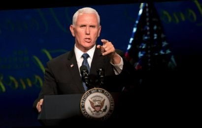 Pence takes swipe at NBA and Nike in speech on China