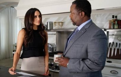 Meghan Markle's onscreen Suits father Wendell Pierce says she has dealt with trolls beautifully
