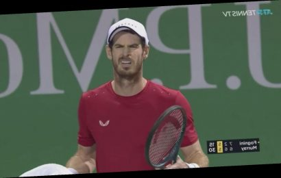 Andy Murray Is Back To Beefing