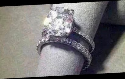 Jewellery shop's engagement ring display goes viral for its phallic resemblance
