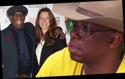 Ian Wright admits wife 'mugged him off' on first date: 'I knew she was the one'