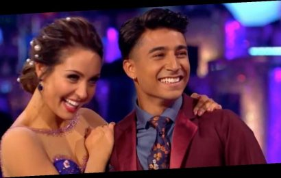 Strictly's Karim says he's faithful to girlfriend despite being close to pro Amy
