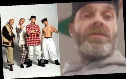 East 17 singer Brian Harvey videos being kicked out of benefits office