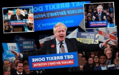 HENRY DEEDES on a US-style speech from a VERY animated Boris Johnson