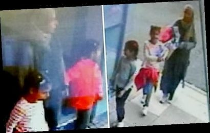 CCTV images released of missing pregnant mother and two daughters