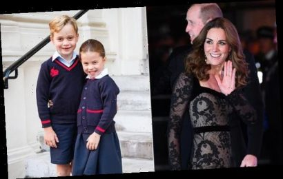 George and Charlotte wanted to go to the Royal Variety Performance