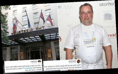 Mayfair hotel sacks Michelin star chef for hosting private party