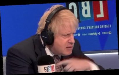 Conspiracy theorists accuse Boris Johnson of trying to dodge question
