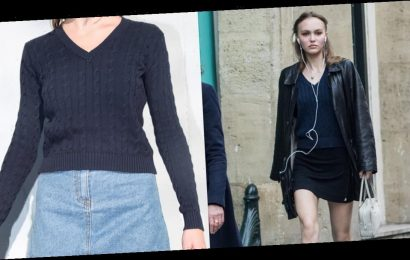 If Lily-Rose Depp Isn't Wearing Chanel, It's Probably Brandy Melville
