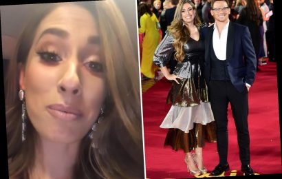 Stacey Solomon stuns in metallic gown and jokes boyfriend Joe Swash won't recognise her at the ITV Palooza