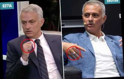 Jose Mourinho sparks rumours his marriage is over by ditching wedding ring – The Sun