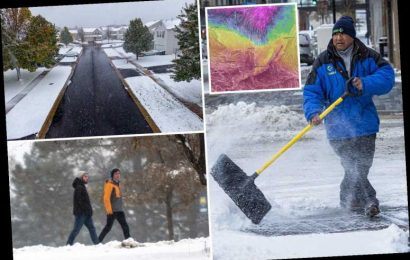 Arctic blast to send temperatures plunging to record lows of -6 across US