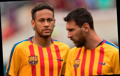 Lionel Messi 'told Neymar he would quit Barcelona at the end of next season in bid to persuade him to return from PSG' – The Sun