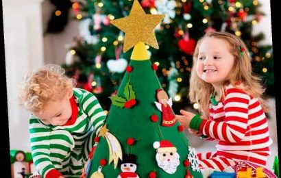 Parents are raving about this £10 felt Christmas tree for toddlers, saying it keeps the kids entertained for hours
