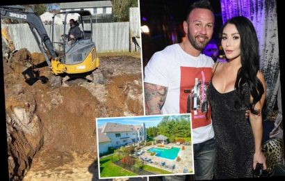JWoww's ex Roger Mathews builds swimming pool after she buys $1.95M mansion with pool