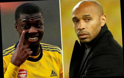 Thierry Henry blasts Arsenal flops for letting Nicolas Pepe down as he launches staunch defence of £72m winger – The Sun