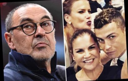 Ronaldo's sisters launch two-pronged attack on Juventus boss Sarri over treatment of 'injured' Portugal hero – The Sun