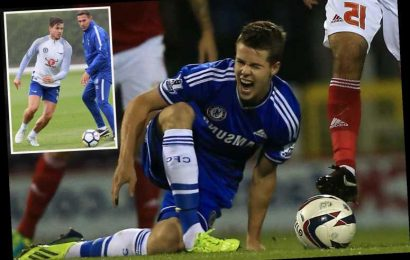 Forgotten Chelsea man Marco van Ginkel back in training after 18 months out with ACL injury – The Sun