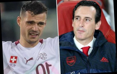 Granit Xhaka wants showdown Arsenal talks but 'can't accept what has happened' after captaincy strip amid 'f*** off' row – The Sun