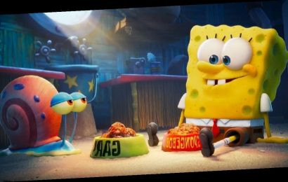 The SpongeBob Movie: Sponge on the Run trailer features Keanu Reeves and a trip to The Lost City of Atlantic City after Gary is snailnapped