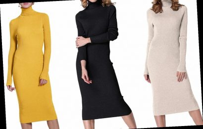 Amazon Shoppers Are So Obsessed With This Under-$40 Sweater Dress, They're Calling it a 'Must-Have' Wardrobe Staple