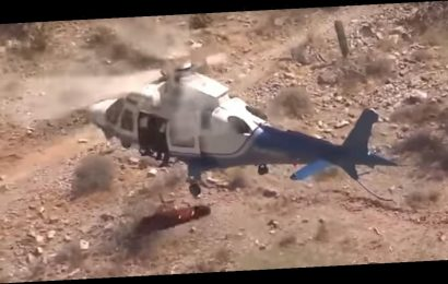 Injured Hiker Sues For $2Million After Viral Spinning Helicopter Rescue