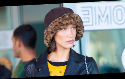 Bella Hadid Lands In New York, Heads Straight To Mom's Farm in Pennsylvania