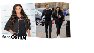Alex Reid is all smiles with fiancée as ex Katie Price ordered to pay him £150k