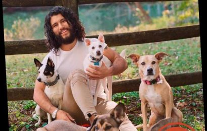 Dan + Shay's Dan Smyers Says His Four Rescue 'Road Dogs' Are the 'Life of the Party'