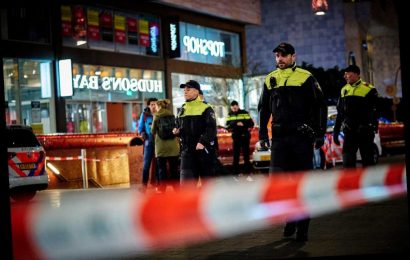 Hague stabbing victims released from hospital, suspect still at large