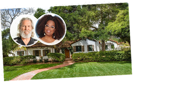Oprah Buys Jeff Bridges' Historic Montecito Ranch