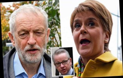 Jeremy Corbyn is 'in bed with the SNP' and could grant second Scottish referendum for coalition deal, warns Michael Gove – The Sun