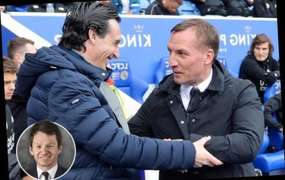 Arsenal have earmarked Rodgers as next boss… and his Leicester could put the final nail in Emery's coffin – The Sun