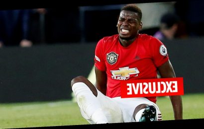 Man Utd star Paul Pogba fears he played with broken ankle before being ruled out until December – The Sun