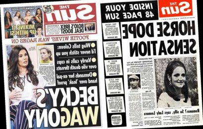 Read all about it… the biggest news events during The Sun's half century