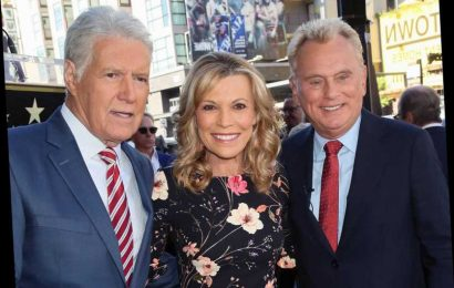 Alex Trebek joins Pat Sajak, Vanna White to honor game show producer at Hollywood Walk of Fame ceremony