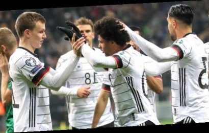 Euro 2020 qualifiers: Serge Gnabry hits a hat-trick as Germany beat NI to top group