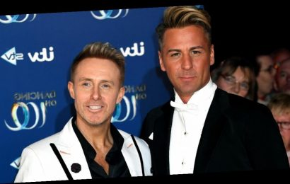 Dancing On Ice's first male couple say they can't do lifts due to 'differences'