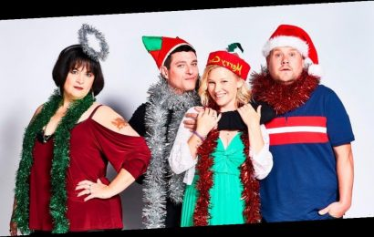 Gavin & Stacey stars drank real booze to get in character for Christmas special