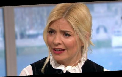 This Morning fans in hysterics as they spot 'X-rated prop' next to Holly
