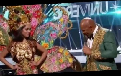 Steve Harvey makes awkward Miss Universe 2019 blunder live on TV