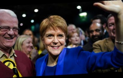 UK election: Sturgeon demands new Scottish independence vote