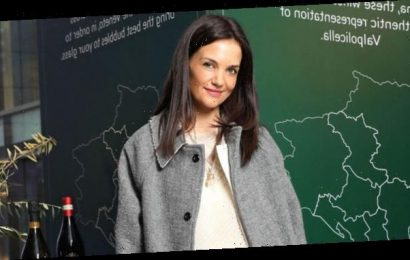 Katie Holmes's Black Booties Just Solved Your Winter Commute Struggle